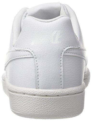 Nike Jungen White Turnschuhe, Weiß, 40 EU Weiß (White/white)
