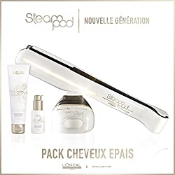 Pack Steampod 2.0 + Sérum + Lait creme de lissage cheveux épais