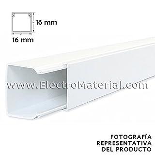 werden–minicanal of 2Meters in White 16x 16mm