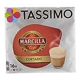 Tassimo Marcilla Cortado, Kaffee, Kaffeekapsel, Bohnenkaffee, Milchkaffee, 80 T-Discs