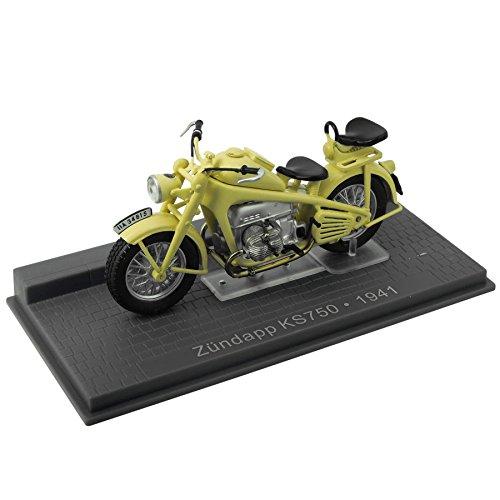 Preisvergleich Produktbild Modell Zündapp KS750 - 1941 (1:24) - gelb
