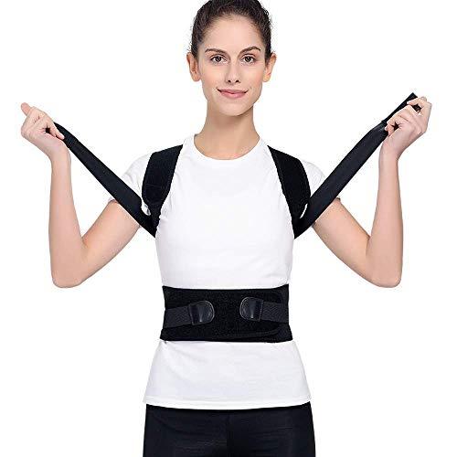 Dreamle Sports Haltungskorrektur Geradehalter Rücken Schulter Gürtel für Eine Bessere Körperhaltung Haltungstrainer Haltungskorrektur Rücken Damen und Herren-Größenverstellbar