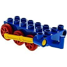 1 x Lego Duplo Führerhaus Zug Aufsatz blau 3x3x3 Kabine Lok Eisenbahn 4544 LEGO Bau- & Konstruktionsspielzeug
