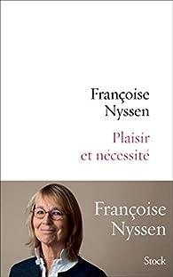 """Résultat de recherche d'images pour """"plaisir et nécessité françoise nyssen"""""""