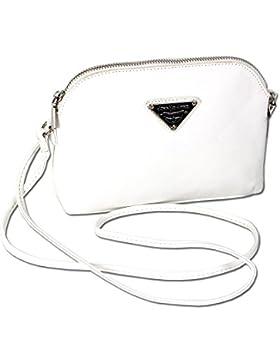 Damen Schultertasche Umhängetasche XS Handtasche langer Schulterriemen 3820