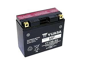 Batterie für DUCATI 1098ccm Streetfighter Baujahr 2009-2011 YT12B-BS