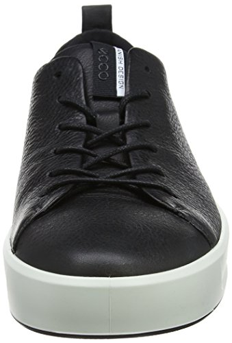 Herren Low Mens Black 8 Soft Ecco Top Schwarz 7A61Cpn