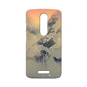 BLUEDIO Designer Printed Back case cover for Motorola Moto X3 (3rd Generation) - G2217