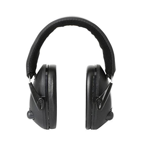 JimTw-UK Gehörschutz/Ohrenschützer, faltbar, Geräuschunterdrückung