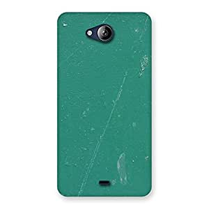 Green Paint Crack Print Back Case Cover for Canvas Play Q355