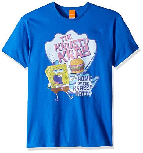 SpongeBob Squarepants Herren Krusty Krab-ROYAL T-Shirt, königsblau, 3X-Groß