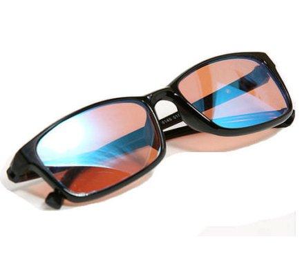 PILESTONE TP-012 verres correctifs de couleur aveugle pour la cécité verte rouge (verres aveugles de couleur)