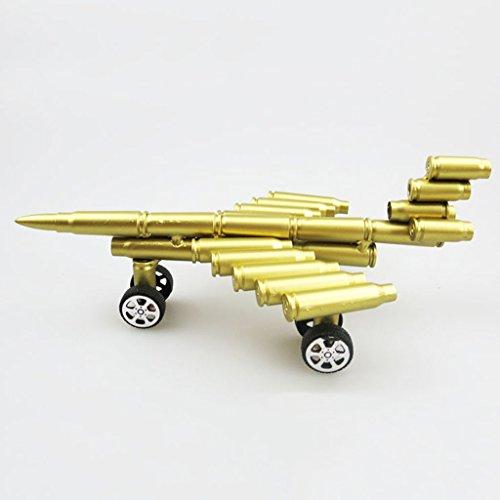 LLQ.LQ Decoración Hogareña Casquillo De Bala Modelo De Aeronave Ventana Accesorios Adornos Vendimia Nostalgia Tamaño (Longitud 20Cm * Ancho 13Cm * Altura 8Cm)