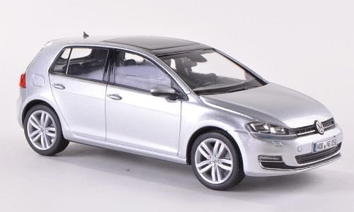 VW Golf VII, Silber, 2013, Modellauto, Fertigmodell, I-Herpa 1:43