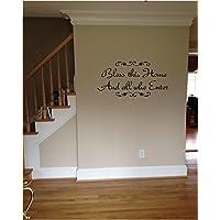 Best Experience Boutique - Adesivo da parete in vinile con scritta di aforisma inglese,