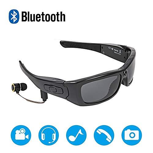 ANLW Bluetooth Bone Conduction Glasses Wireless Bluetooth Headset Sports Intelligent Polarized Sonnenbrille Stereo-Kopfhörer für Smart