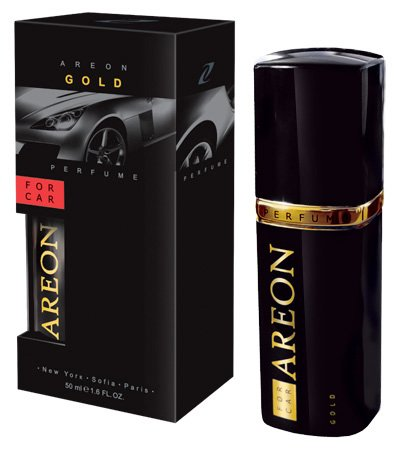 Areon Luxus Lufterfrischer Auto Parfüm Deodorant (Gold 50ml)