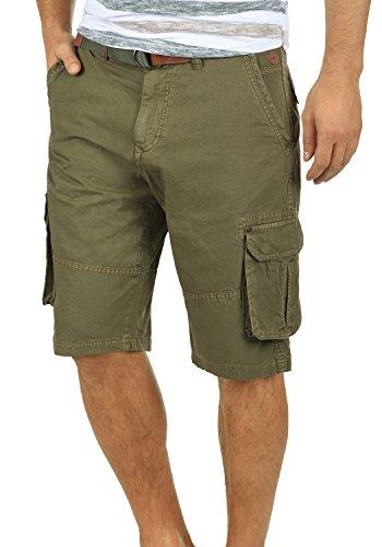 Blend renji - shorts cargo da uomo, taglia:m;colore:dusty green (70595)