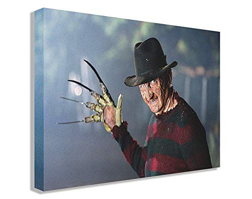 FREDDY KRUEGER A NIGHTMARE ON ELM STREET - Lienzo para pared (110 x 65 cm)