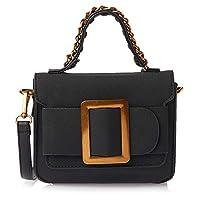 Essquare Flap Bag for Women - Black