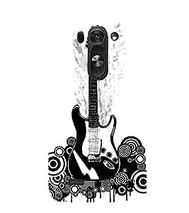 Guitar 3D Hard Polycarbonate Designer Back Case Cover for LG G3 Beat :: LG G3 Vigor :: LG G3s :: LG g3s Dual