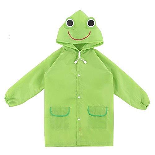 YUELANG 1PC Waterproof Kids Raincoat For Children Rain Coat Rainwear/Rainsuit Student Poncho Drop Shipping