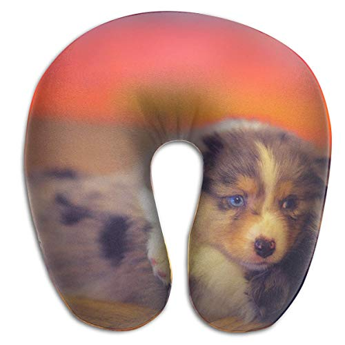 Nifdhkw Multifunctional Neck Pillow Dogs Puppy U-Shaped Soft Pillows Portable for Sleeping Travel Multicolor12
