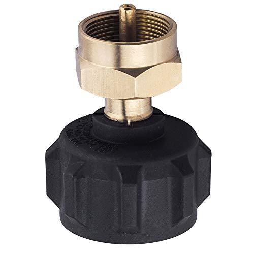 - Ohwens Refill Adapter LP Gas Cylinder Tank Coupler Regulator Valve for QCC1/Type1 Propane Tank