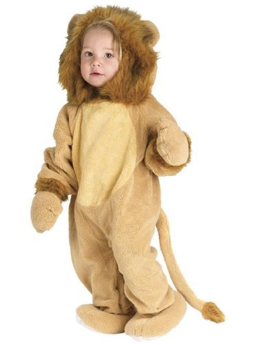 Fun World Kleinkind Kostüm Niedlicher Löwe - 12 - 24 Monate (Kleinkind, Kostüm Halloween Löwe,)