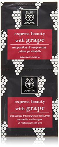 Apivita - Mascarilla antiarrugas con uva express beauty