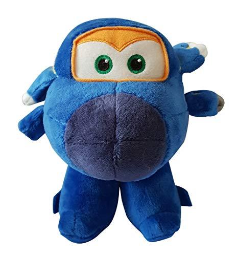 ngs - Flying Friends Flugzeug Charakter Plüschfiguren zum Sammeln und Spielen, 17 cm für Kinder, Jerome (Blau) ()