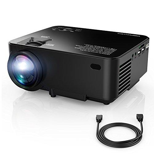 VidéoProjecteur, DBPOWER T20 Mini Projecteur, Projecteur Portable LED...