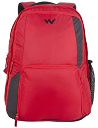 905cc79535 Wildcraft Polyester Red Laptop Backpack (Geek 3.0   Wildcraft   Red)