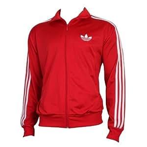Adidas Originals Firebird Rayures Rouge et blanc haut de survêtement ⠀X LARGE