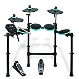 ALESIS DM Lite Kit | 5-Piece Electronic Drum Set with Collapsible 4-Post Rack