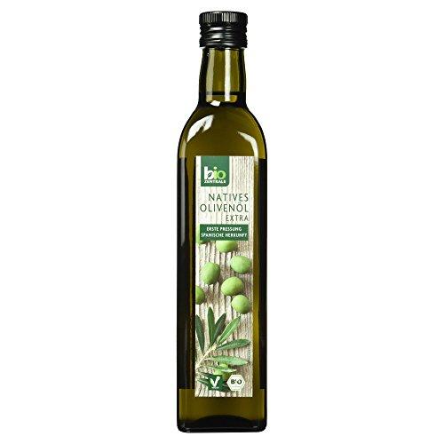 Preisvergleich Produktbild biozentrale Natives Olivenöl extra Kaltgepresst Bio / 500ml Natives Olivenöl Extra Bio / Reines Olivenöl Bio aus erster Pressung und ausgewählten spanischen Oliven