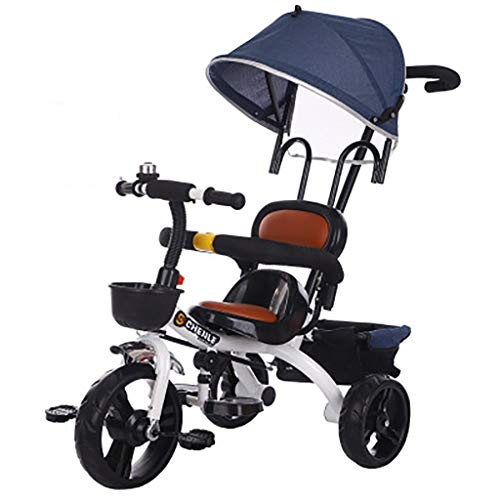 68 Bicicleta Tres Ruedas for niños. Carrito Grande