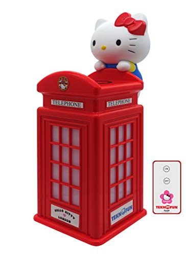 Teknofun 811254 Hello Kitty Ladegerät, Rot (Hello Kitty Ladegerät)