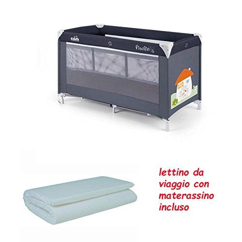 LETTINO DA VIAGGIO PISOLINO CAM + MATERASSINO ARROTOLATO PER LETTINO DA VIAGGIO WILLY & CO. (101 CASETTA)
