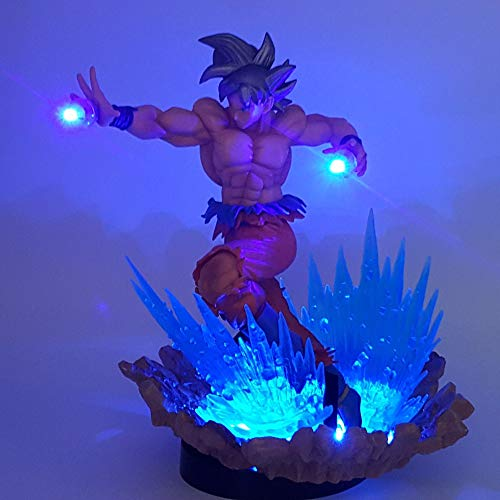 Dragon Ball Son Goku Ultra Ultra Led Luces Nocturnas Escritorio Dragon Ball Z Goku Llave De Egoism Led Lamparas Luz Nocturna