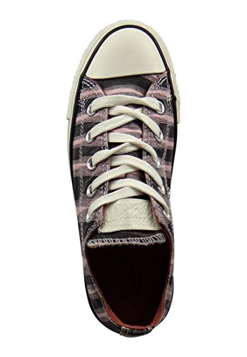 Converse Chuck Taylor mandrins 149692C Missoni Imprimer Rose Gel / Noir / Egret Pink Freeze/Black/Egret