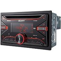 Sony WX-XB100BT - Receptor de CD para coche (conexión Bluetooth doble, NFC, control de voz con Siri y Android, 4 x 100 W, Extra Bass, USB) negro