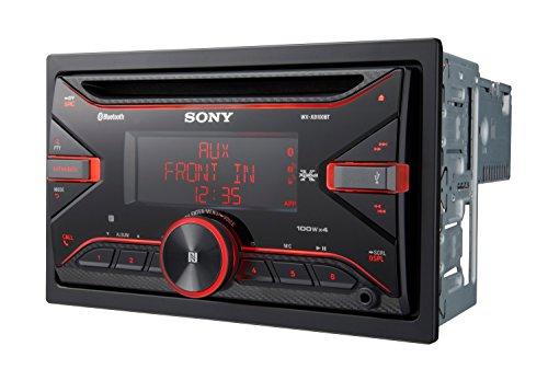 Sony WXXB100BT Ricevitore CD, Nero
