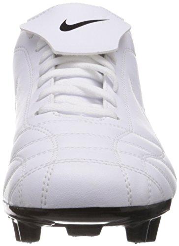 Nike Egoli Fg uomo Scarpe da calcio 354719 morsetti di calcio white black 101