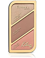 Rimmel London Kate Sculpting Highlighter Palette, Coral Glow, 18.5 g