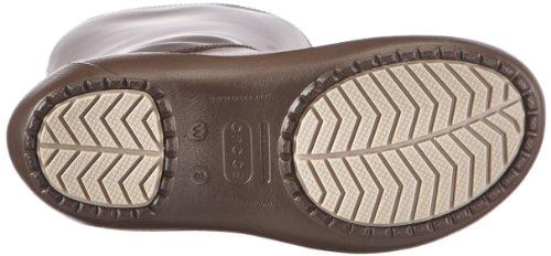 crocs Damen Rainfloe Boot Gummistiefel Braun (Espresso/Espresso)