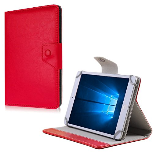 na-commerce Tablet Tasche MP Man MPQC1030 MPQC1040i Hülle Schutzhülle Case Cover Universal, Farben:Rot