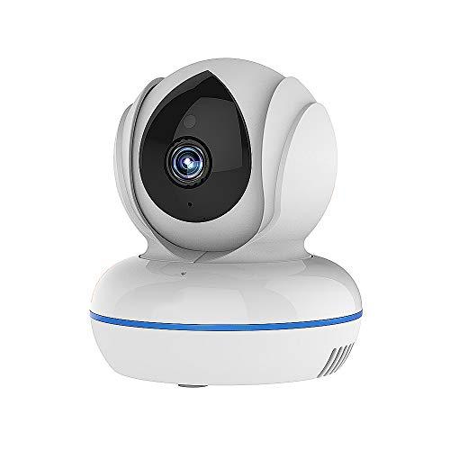 Jenify Wireless Baby Monitor con Fotocamera e Audio WiFi Home 4MP Full HD Telecamera Visione Notturna Mini sorveglianza Sicurezza