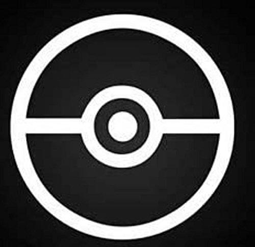 Pokemon bolas pegatinas de calcomanías de vinilo (2unidades). |cars camiones Vans Paredes laptops|white|2–5en decals|kcd594