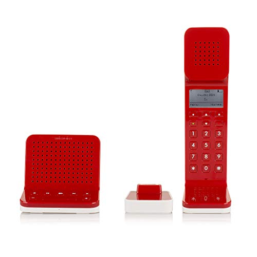Swissvoice L7, DECT 6.0 Cordless Design Phone with answering Machine RED